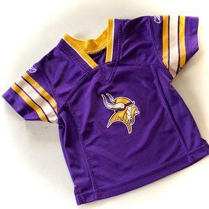 REEBOK Vikings NFL Toddler Jersey 2T
